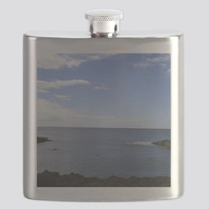 Hawaii Coastline Flask