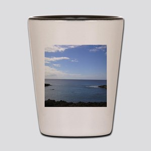 Hawaii Coastline Shot Glass