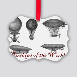 Airships of the World Picture Ornament