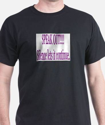 """Speak Out"" T-Shirt"