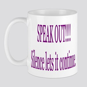 """Speak Out"" Mug"