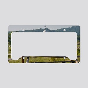 Battle of Gettysburg License Plate Holder