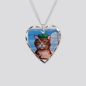 PIERRE LE CHAT, WINE CONNOISS Necklace Heart Charm