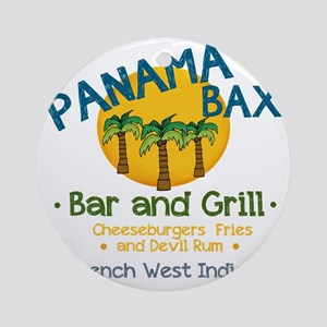 Panama Bax Round Ornament