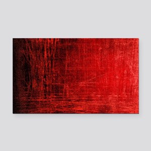 creepy red scratches  Rectangle Car Magnet