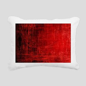 creepy red scratches  Rectangular Canvas Pillow