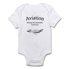 Making the impossible look ea Infant Bodysuit