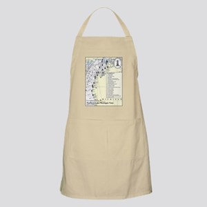 Northern Lake Michigan Tour Apron