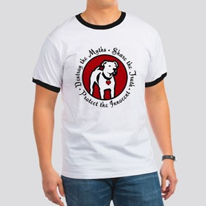 Response-a-Bull Rescue Logo Ringer T
