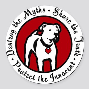 Response-a-Bull Rescue Logo Round Car Magnet