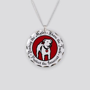 Response-a-Bull Rescue Logo Necklace Circle Charm