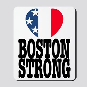 Boston Strong USA Heart Mousepad
