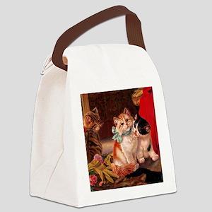 tvk_napkins_825_H_F Canvas Lunch Bag