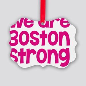 Boston Strong Picture Ornament