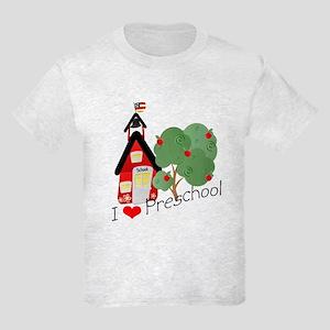 I Love Preschool Kids Light T-Shirt