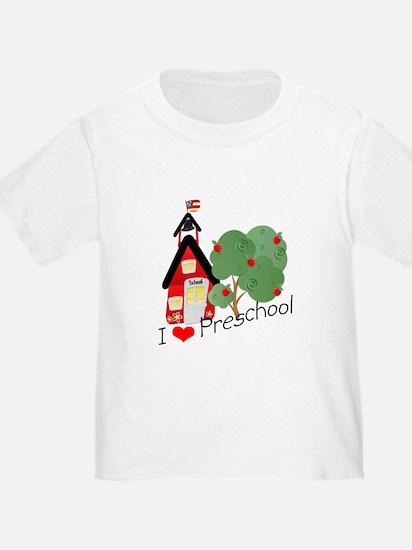 I Love Preschool T