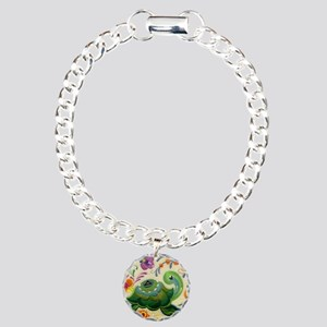 ODAT One day at a time Charm Bracelet, One Charm