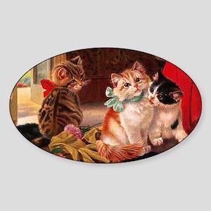 tvk_s_cutting_board_820_H_F Sticker (Oval)