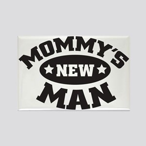 Mommys new man Rectangle Magnet
