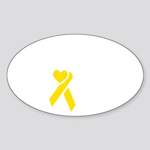 Boston Strong Ribbon Sticker (Oval)