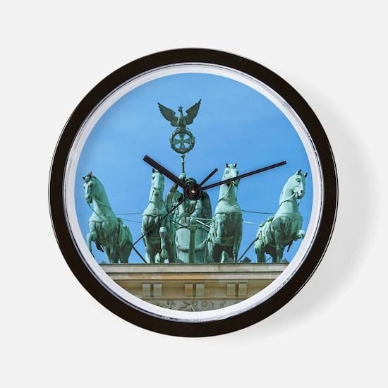 Brandenburg Gate Berlin Wall Clock