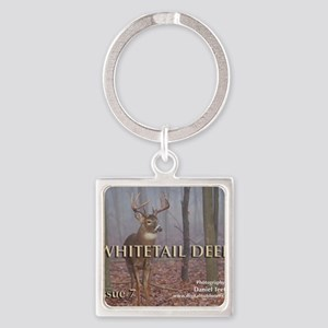 Whitetail Deer, Issue 7 Square Keychain