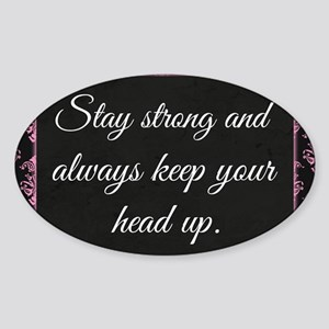 Stay Strong Sticker (Oval)