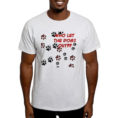 Dog Paws Light T-Shirt