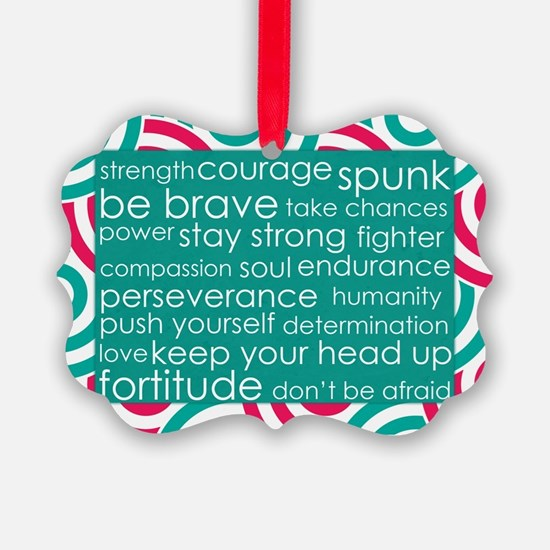 Stay Strong Ornament