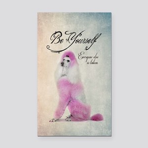 Be Yourself Rectangle Car Magnet