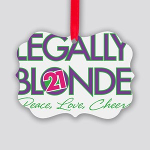 Legally Blonde 21 Picture Ornament