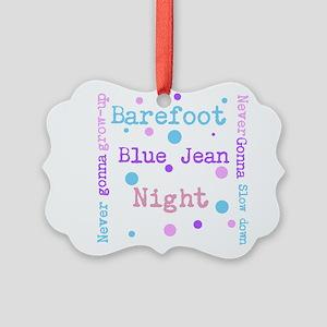 Barefoot Blue Jean Night Ornament