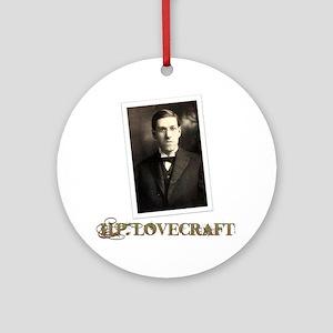 HP Lovecraft Round Ornament