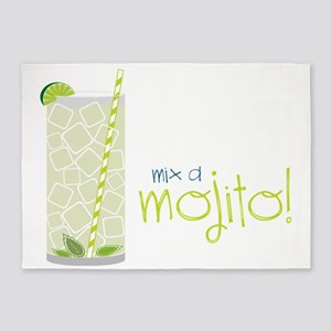 Mix A Mojito 5'x7'Area Rug