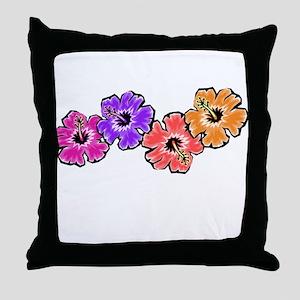 Hibiscus 1 Throw Pillow