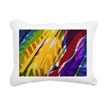 The City II Rainbows Rectangular Canvas Pillow