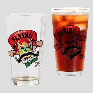 Cheststache Nacho Mustacho T-Shirt Drinking Glass