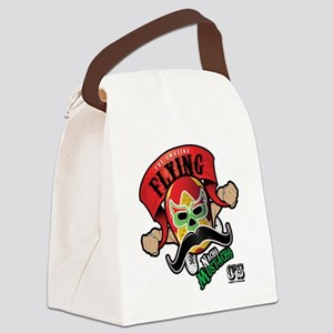 Cheststache Nacho Mustacho T-Shir Canvas Lunch Bag