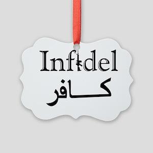 Infidel Picture Ornament