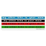 My Other Bike Is Your Mom bike stickers