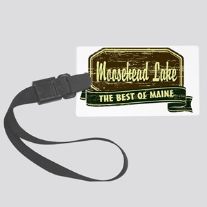 The Best of Maine Large Luggage Tag