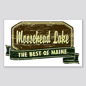 The Best of Maine Sticker (Rectangle)