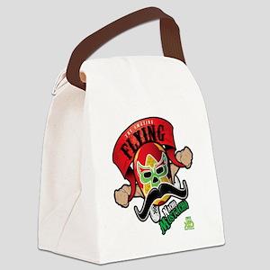 Cheststache Kid Nacho Mustacho T- Canvas Lunch Bag