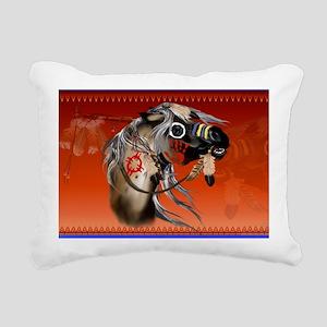 Yardsign War Horse Rectangular Canvas Pillow