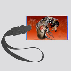 Yardsign War Horse Large Luggage Tag