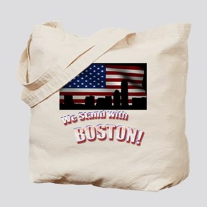 We stand with Boston Tote Bag