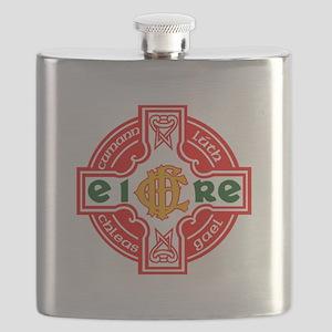 CFD Gaelic Football Logo R Flask