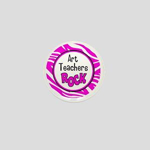 Art Teachers Rock Mini Button