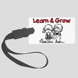 Learn & Grow Childcare Large Luggage Tag