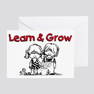 Learn & Grow Childcare Greeting Card